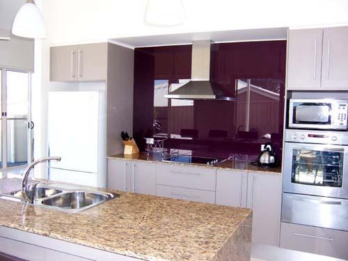 Kitchen Remodel Designs Purple Kitchen Splashbacks