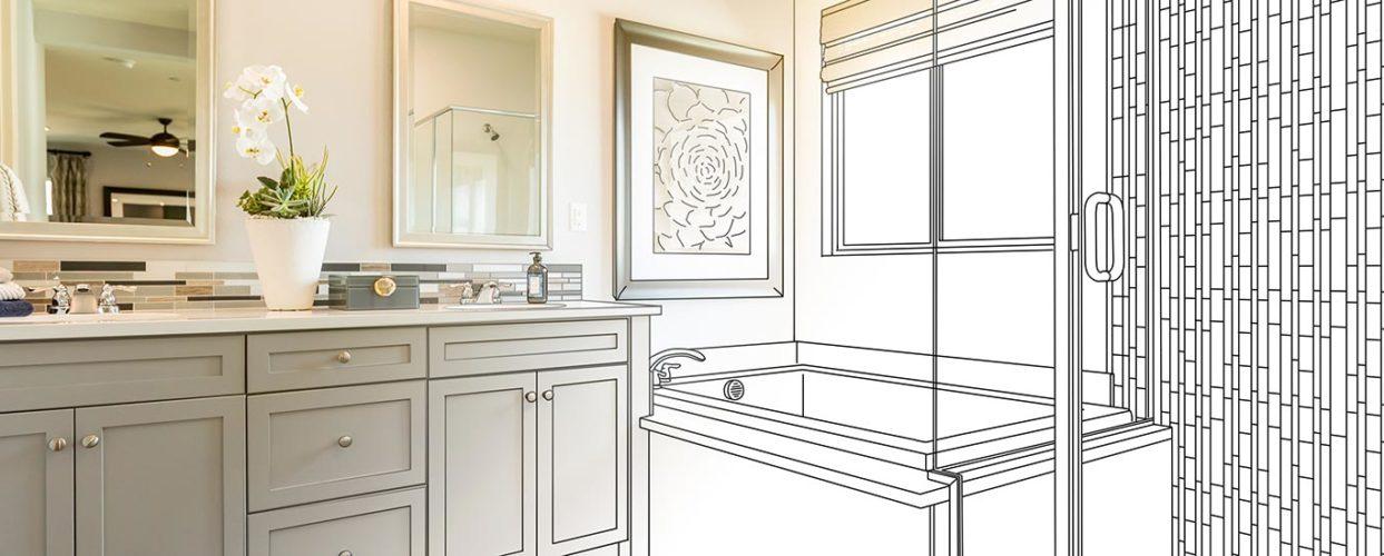bathroom renovation concept