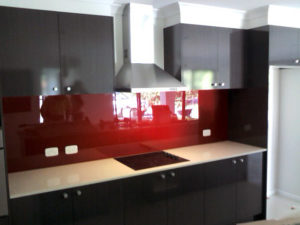 Gloss Glass Splashbacks Coffs