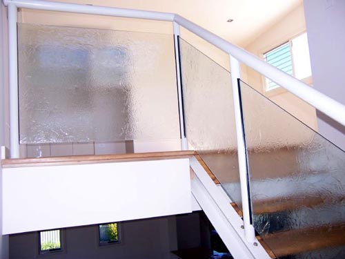 Slumped Glass Balustrades