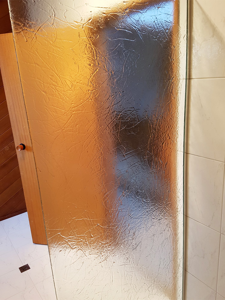 Slumped Glass Shower Screens