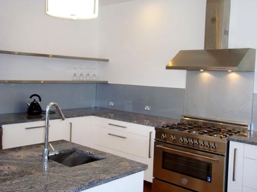 Slumped Glass Splashbacks